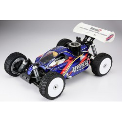 HOBAO HYPER 7 TQ2 RTR BUGGY w/MAC*28 TURBO ENGINE 2.4ghz 18kg SERVO