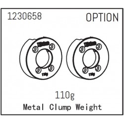 Metal Clump Weight 110g (2)