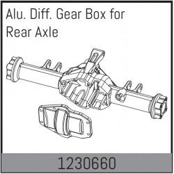 Alu. Diff. Gear Box for Front Axle