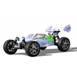 PLANET PRO 4WD BUGGY RTR 1: 8, 2,4 GHZ, BIANCO-VERDE