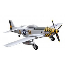 P-51D MUSTANG GIALLO PNP 4 CANALI SW 75 CM