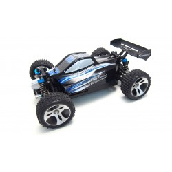 BX18 BLUE, BUGGY 1:18 4WD RTR