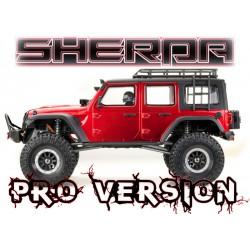 """1:10 EP Crawler CR3.4 """"SHERPA-PRO"""" Metallizzato Rosso RTR"""