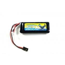 RX LiPo 7.4V 2500 SC (Uni-Spina)
