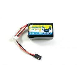 RX LiPo Hump 7.4V 2500 SC (Uni-Plug)