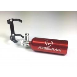 Estintore in alluminio rosso