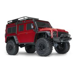 TRAXXAS Trx-4 Land Rover Defender Trail Crawler - Blu