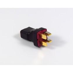 Adattatore seriale 1xT-plug (femmina) - 2xT-plug (maschio)