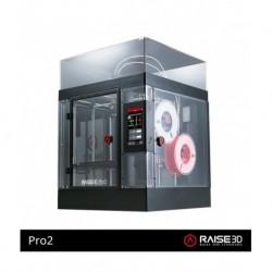 RAISE3D PRO 2 - doppio estrusore - area di stampa 305x305x300 mm