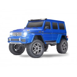 Traxxas TRX-4 Mercedes G500 1:10 TQi RTR con luci a LED (blu)