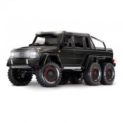 TRAXXAS TRX-6 Mercedes-Benz G 63 AMG 6x6 Trail Crawler con Kit Luci-Nero