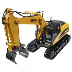 HUINA 1/14TH RC TIMBER GRABBER 2.4G 16CH w/DIE CAST GRAB
