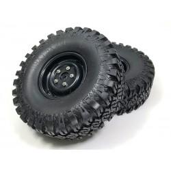 """Ruote scaler """"Extra Soft"""" con inserti standard 114mm (2)"""