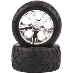 Coppia gomme per Truggy e Monster scala 1/10 da On Road