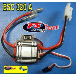 Regolatore ESC 320 A. Brushed Per Modelli Scala 1-10