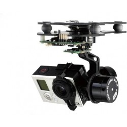 3 axis SMART Gopro BL Gimbal con alexmos mini