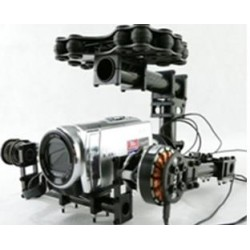 Struttura full carbon Gimbal brushless 2 assi per MINI DV