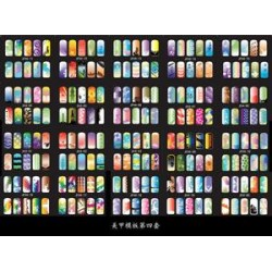 JFH-04 20 Pagine 200 Disegni per Unghie