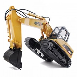 HUINA 1/14TH SCALE RC EXCAVATOR 2.4G 15CH w/DIE CAST BUCKET