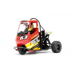 X-RIDER FLAMINGO 1/8 RC TRICYCLE RTR - ROSSO